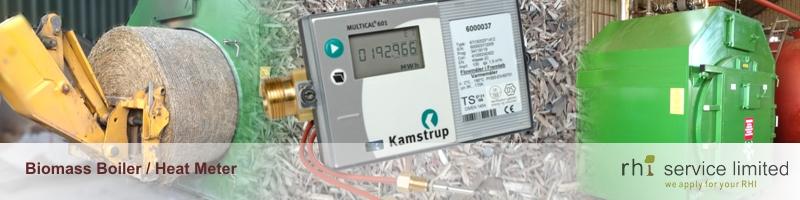 RHI Service Biomass Boiler, Grade A Woodchip and Heat Meter